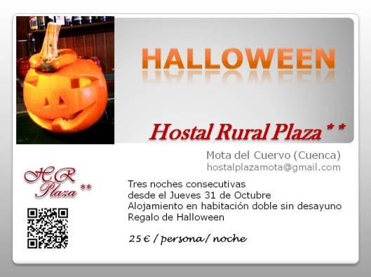 oferta Halloween 3 noches