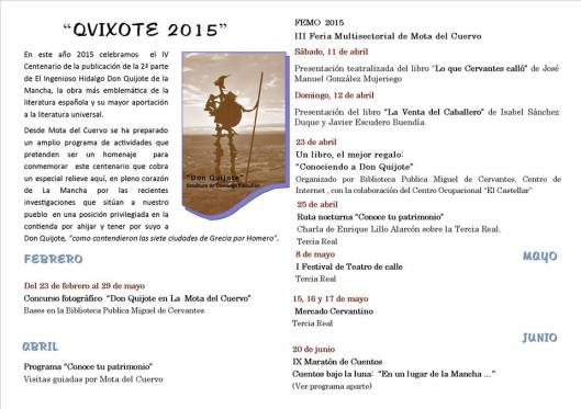 eventos QVIXOTE15