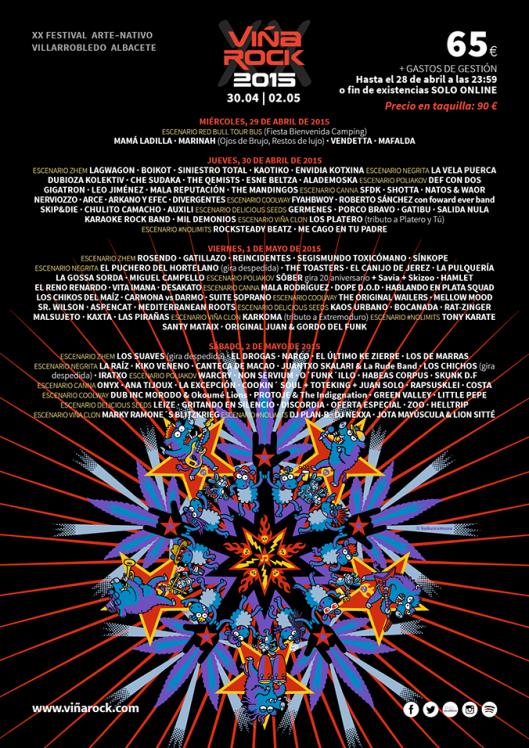 ViñaRock 2015