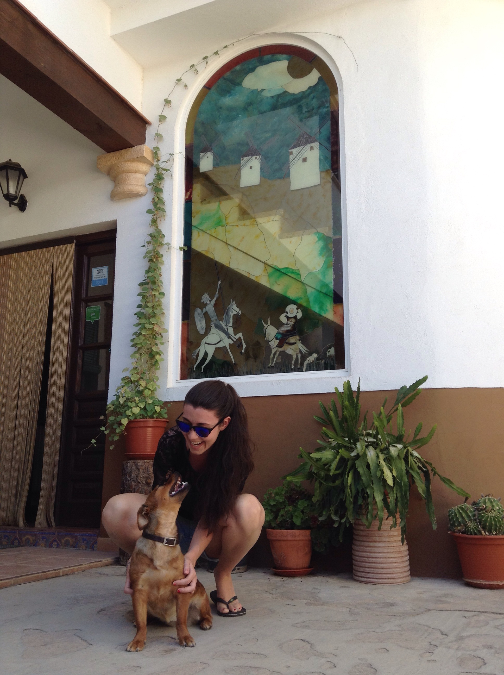 Guapisima Raquel con Niza
