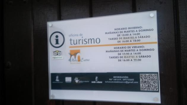 horarios oficina de turismo de Mota del Cuervo