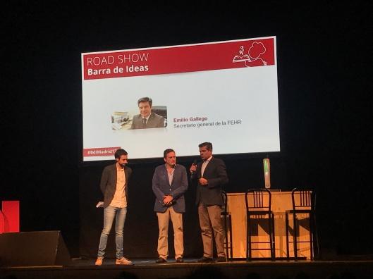 Rodrigo Domínguez, Juan José Blardony y Emilio Gallego